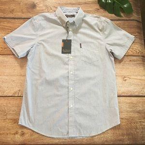 Ben Sherman Mens Small NWT Striped Shirt